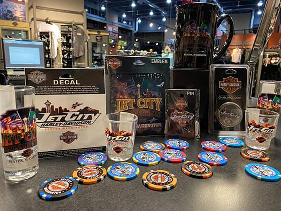 Jet City Harley Licensed Collectibles