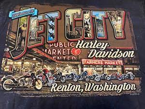 Jet City Harley T-Shirt