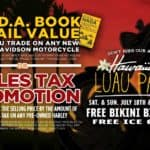 Retail Value on Trade or Sales Tax Promotion