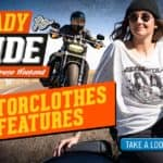 """""""Ready to Ride"""" Open House MotorClothes Features"""