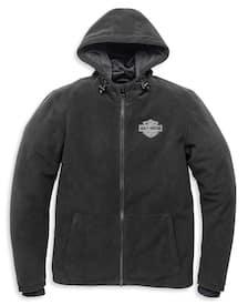Harley Men's Roadway Waterproof Fleece Jacket # 98116-21VM