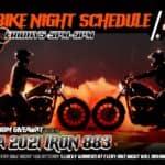 Bike Night Schedule