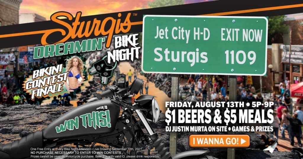 Sturgis Dreamin' Bike Night