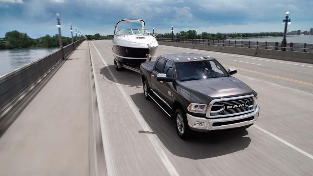 2018 Ram 2500 limited highway towing boat
