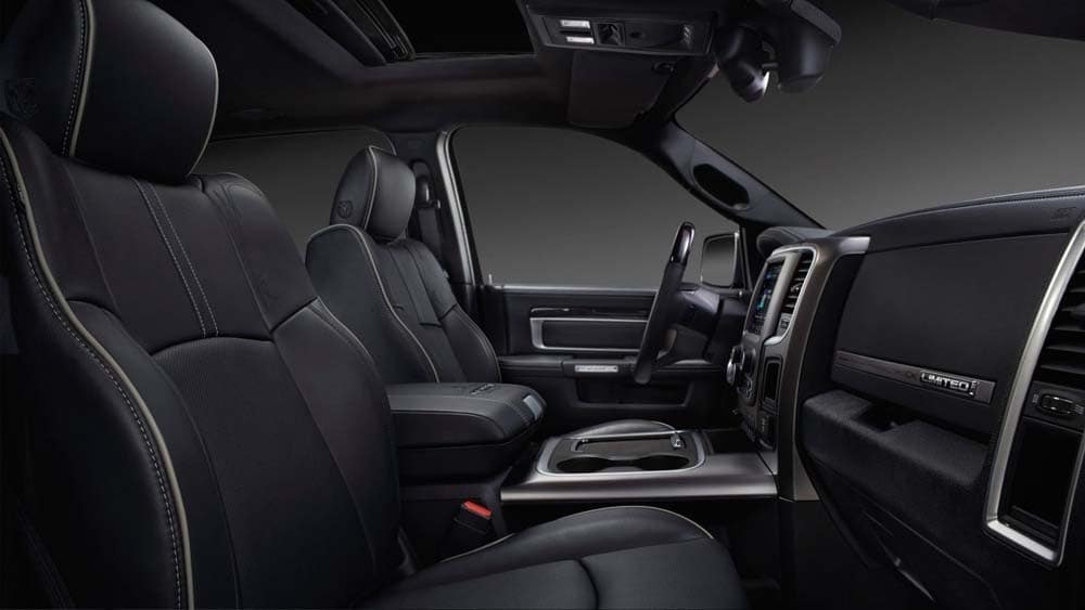 2018 Ram 2500 limited interior features