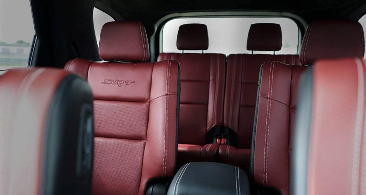 2019 Dodge Durango SRT back seating