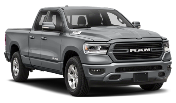 2020 RAM 1500 facing right