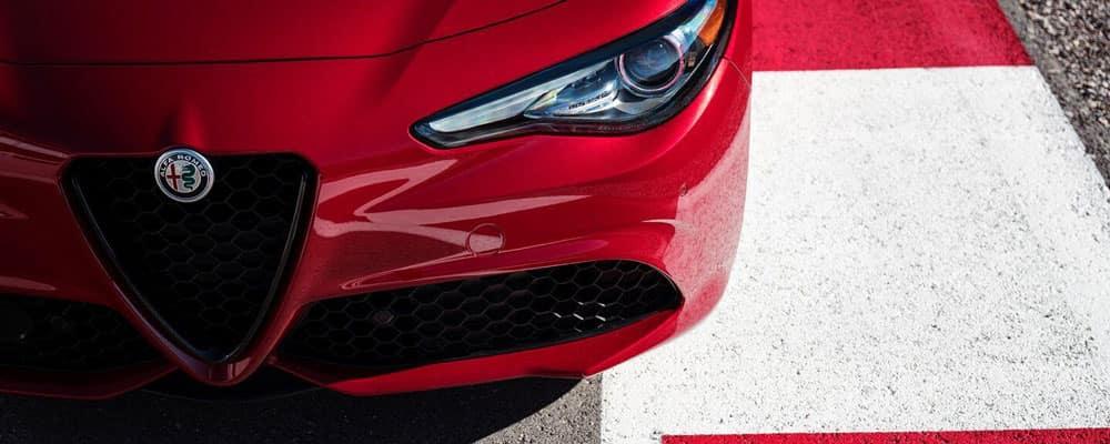 2019 Alfa Romeo Giulia Quadrifoglio on Track