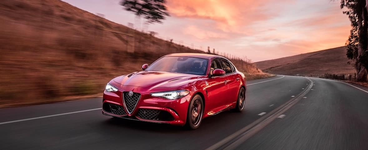 Giulia Quadrifoglio Power and Speed