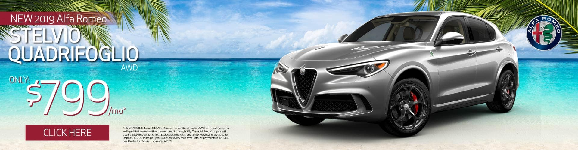 Stelvio Quadrifoglio AWD Lease Specials