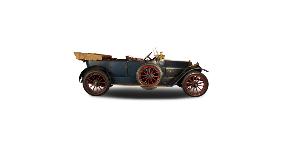 An original Alfa 24HP from the early 1910s.