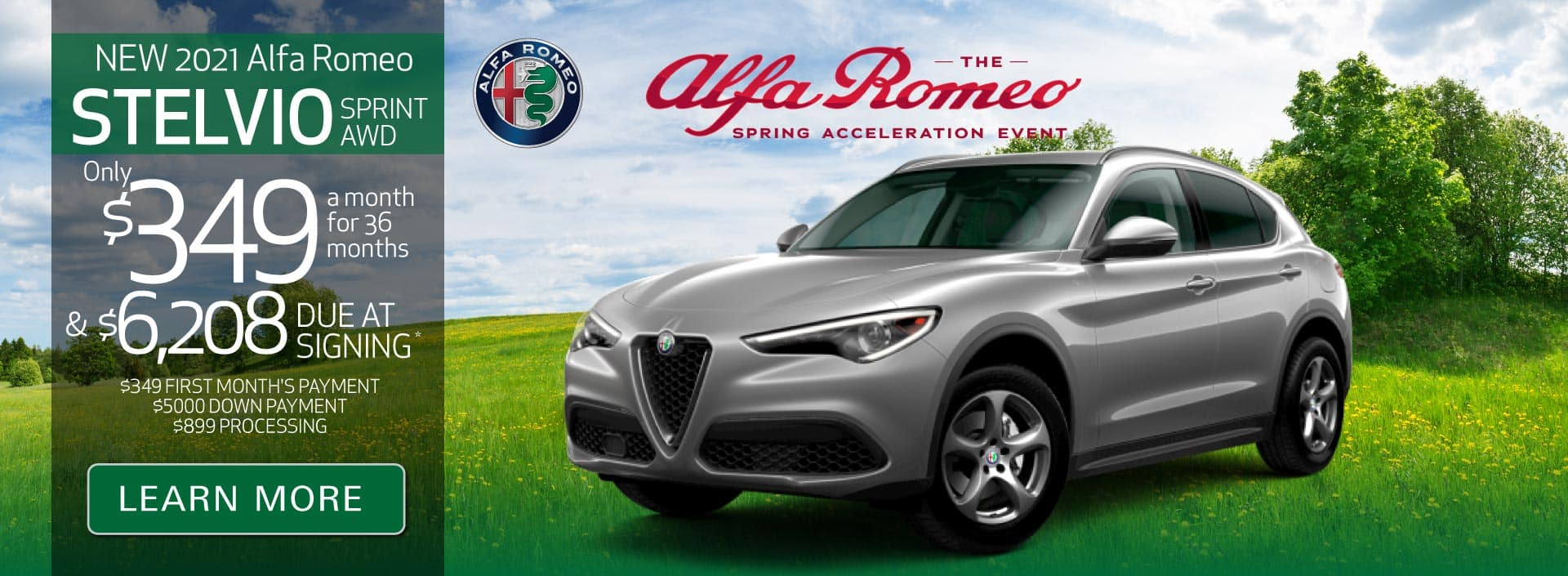 New 2021 Stelvio only $349 a month | Learn More