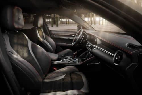 2022 Alfa Romeo Stelvio Performance Engine