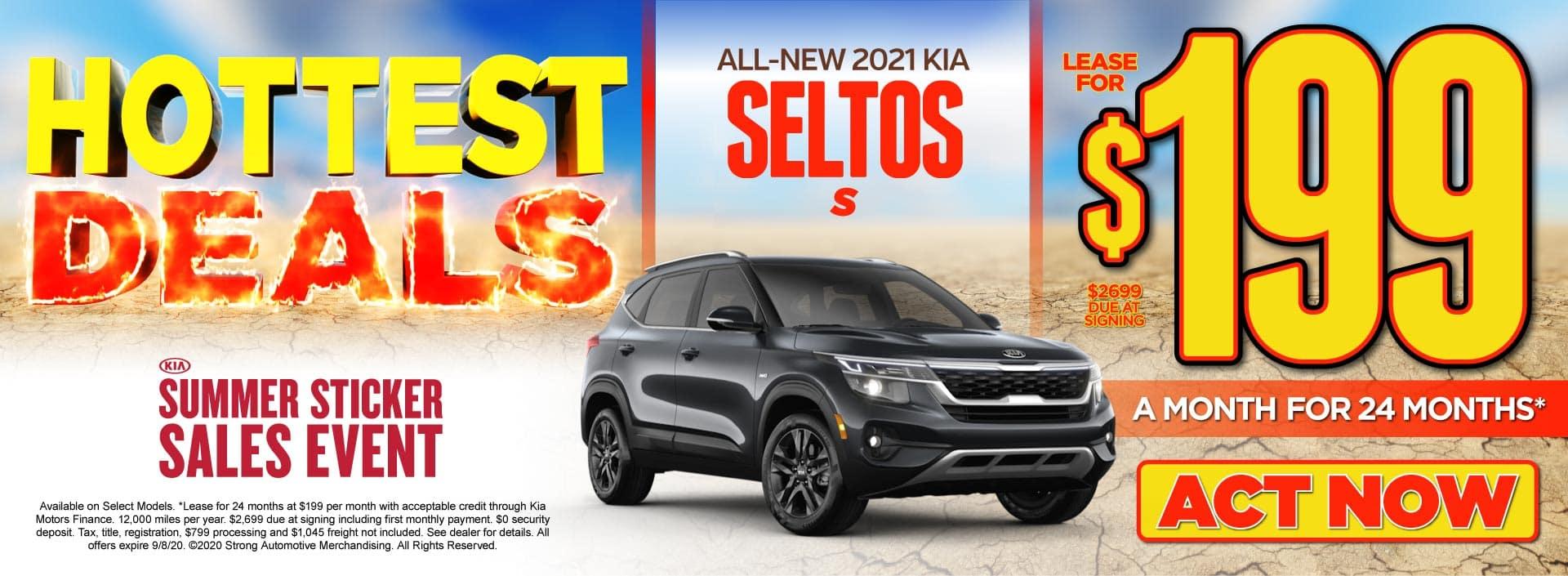 2021 Kia Seltos only $199/mo - Act Now
