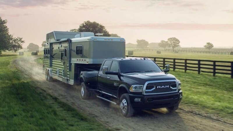 2018 Ram 3500 Towing Trailer