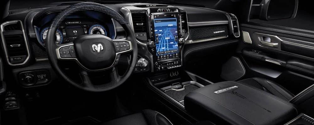 2019 ram 1500 front interior