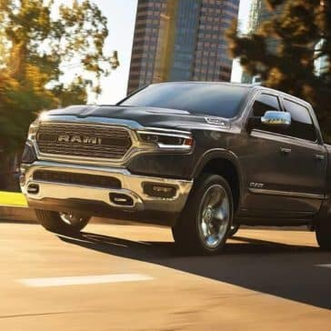 2019-Ram-1500-drives-down-city-street