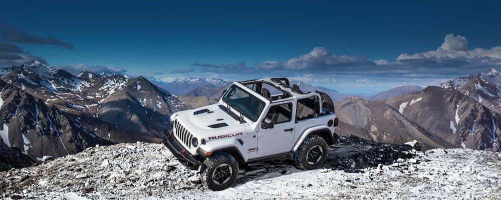 2019 wrangler rubicon on mountain