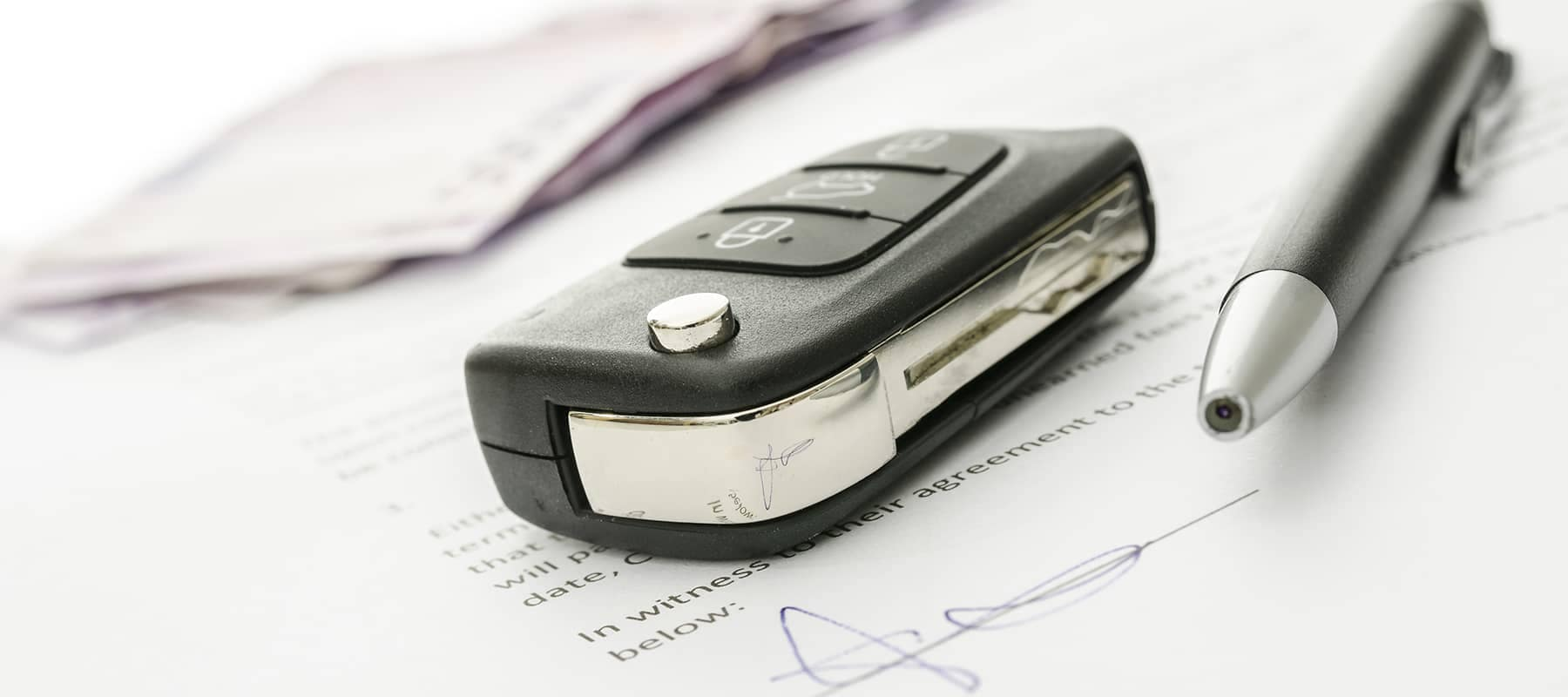Key and Pen for Auto Documents
