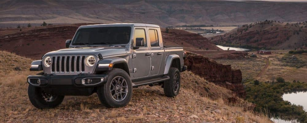 2020 Jeep Gladiator Parked on Hill