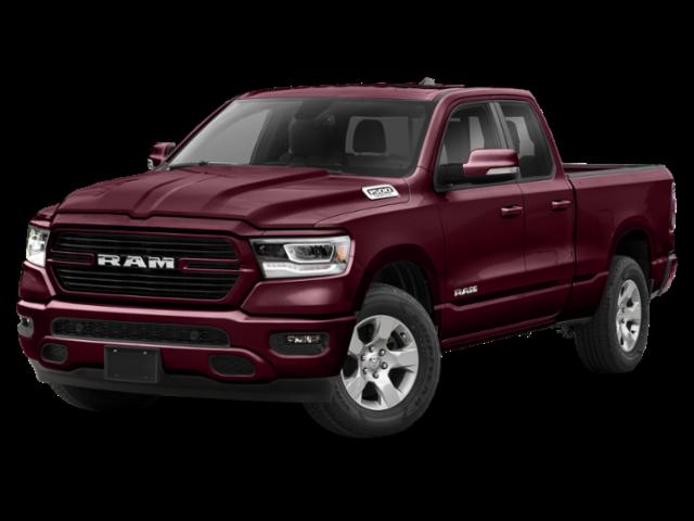 Maroon 2020 RAM 1500 Quad Cab