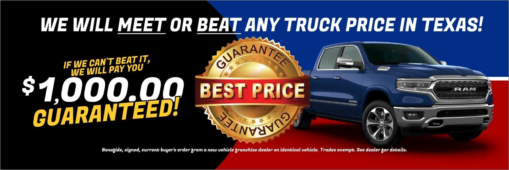 Best Truck Price