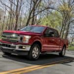 Ruby Red 2018 Ford F-150 XLT