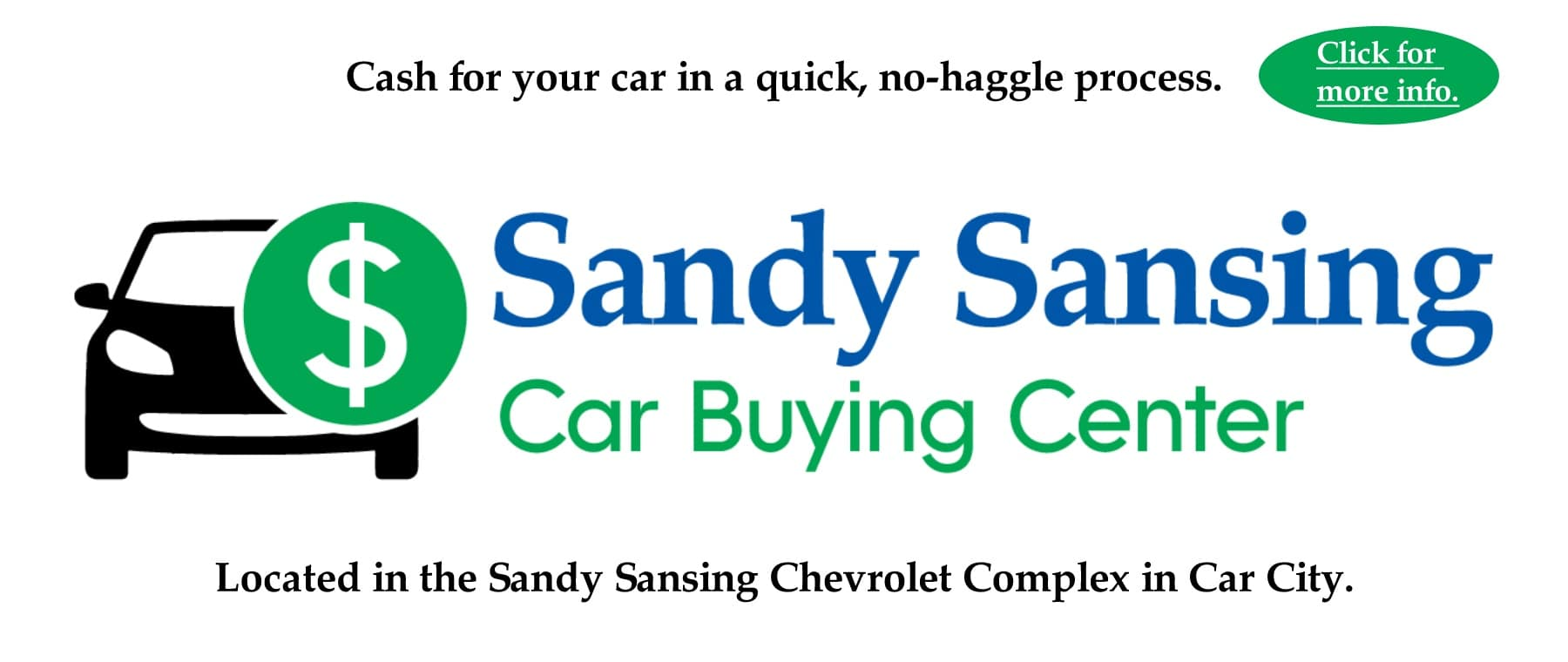 Sandy Sansing Buying Center Pensacola FL Sell Your Car