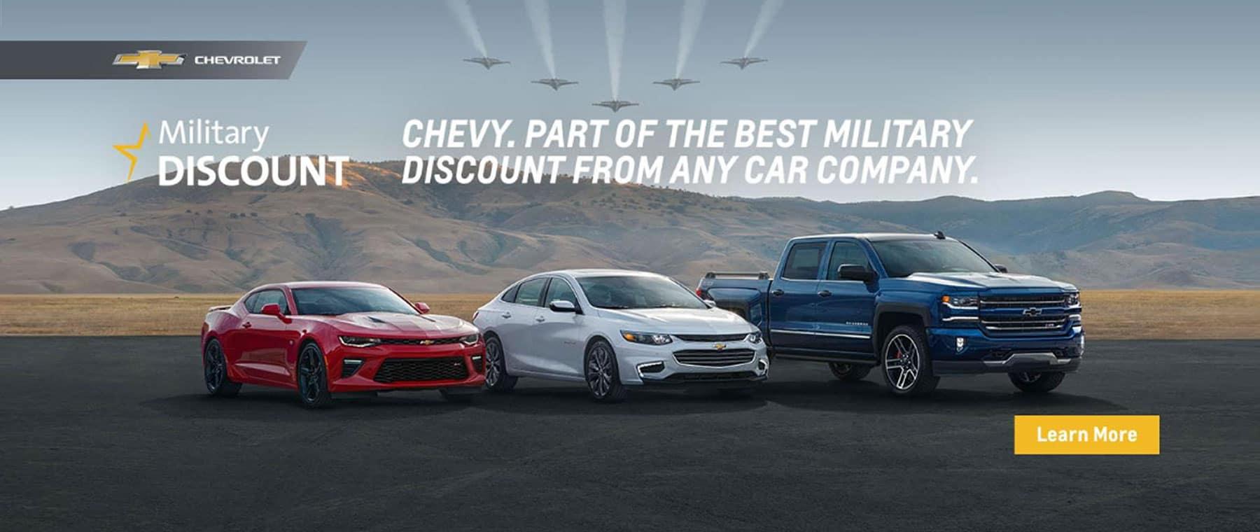 Sandy Sansing Chevrolet Pensacola FL Military Discount