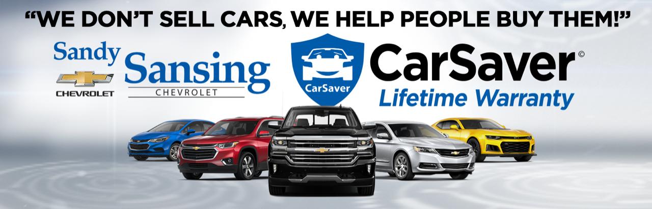 Sandy Sansing Chevrolet Pensacola FL Walmart Carsaver Warranty