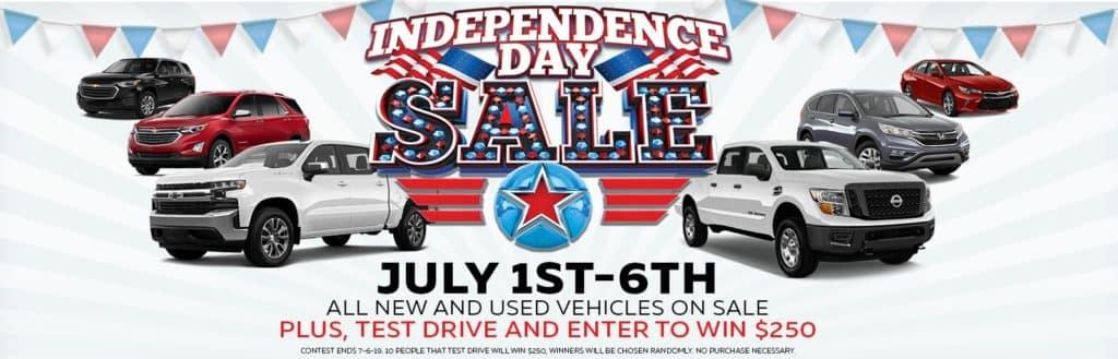 Sandy Sansing Chevrolet Pensacola FL 4th of July Sale