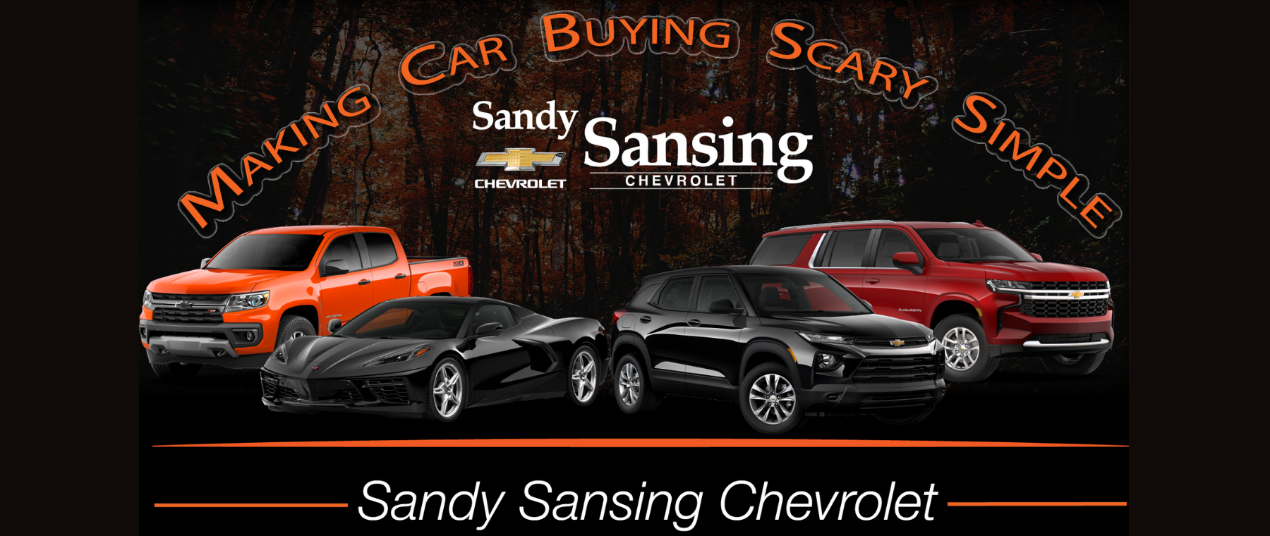Scary Simple Car Buying New Chevy vehicles lineup