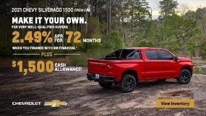 Make it your own. 2.49% APR for 72 months