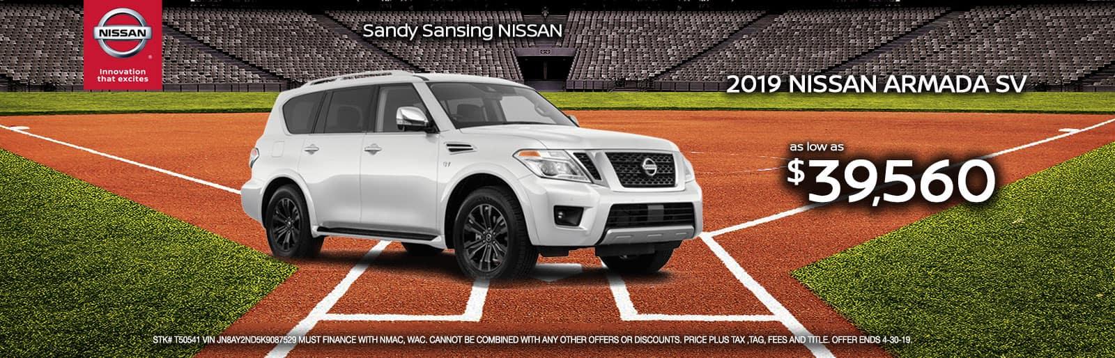 Sandy Sansing Nissan Pensacola FL Armada