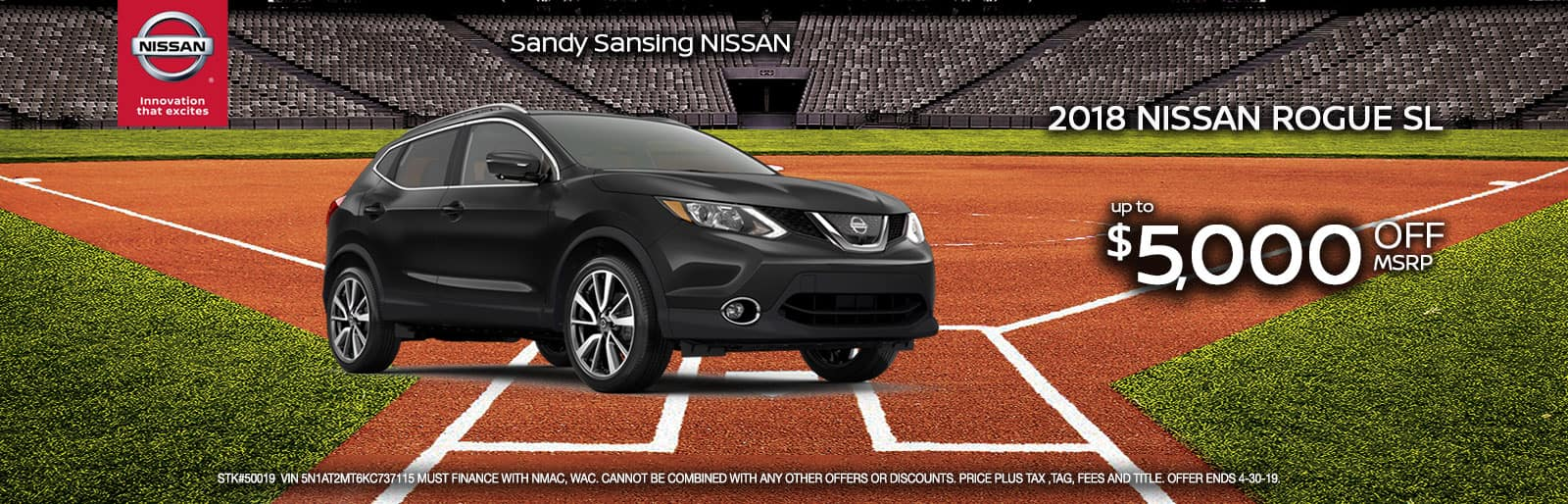 Sandy Sansing Nissan Pensacola FL Rogue