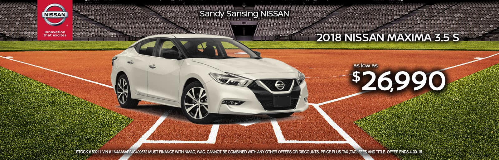 Sandy Sansing Nissan Pensacola FL Maxima
