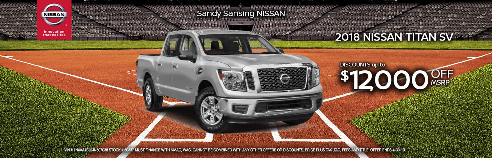 Sandy Sansing Nissan Pensacola FL Titan