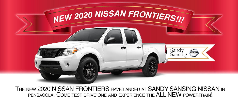 New 2020 Frontier