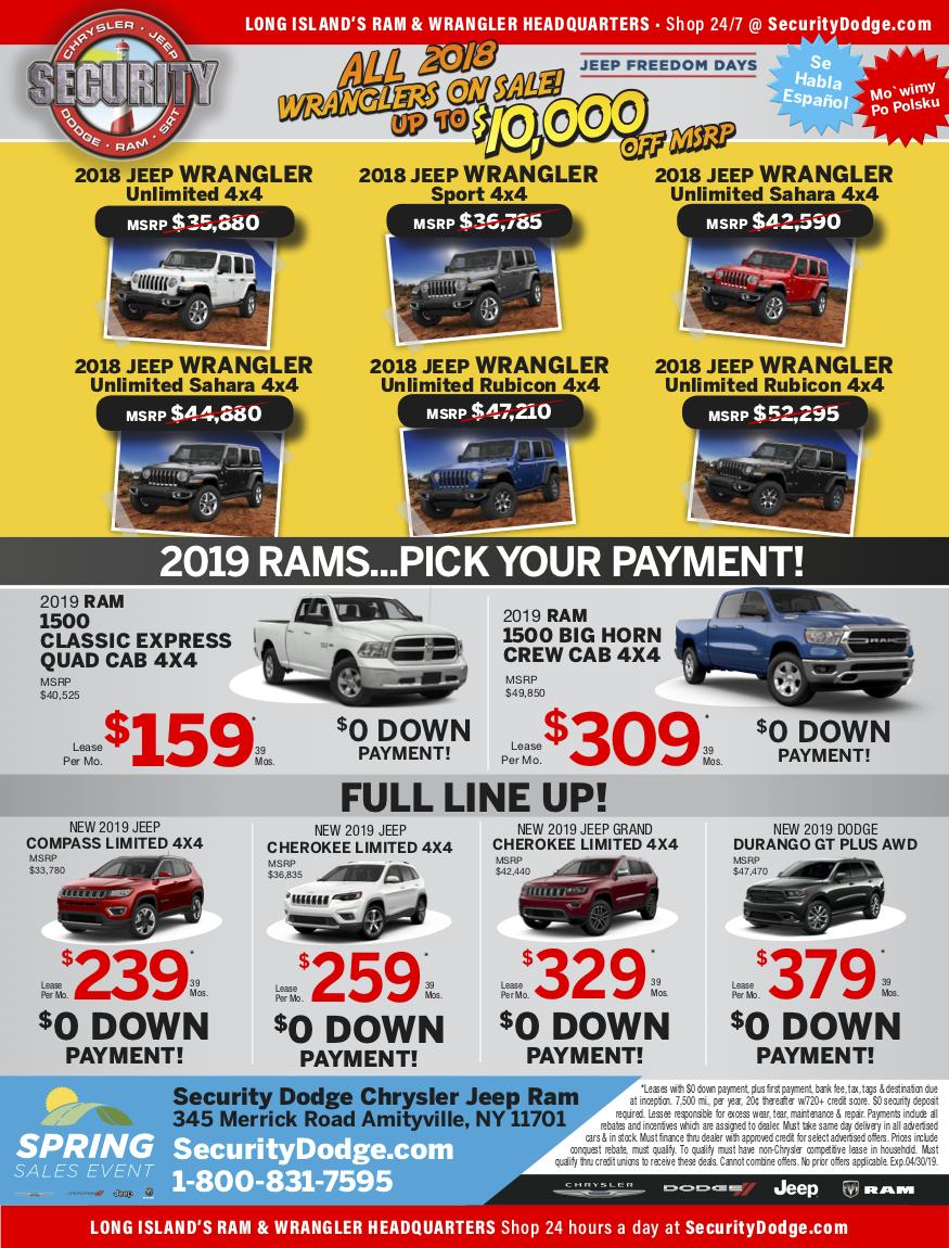 march newspaper ads
