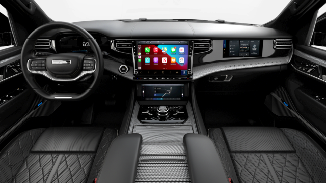 2022 Jeep Grand Wagoneer Obsidian Interior