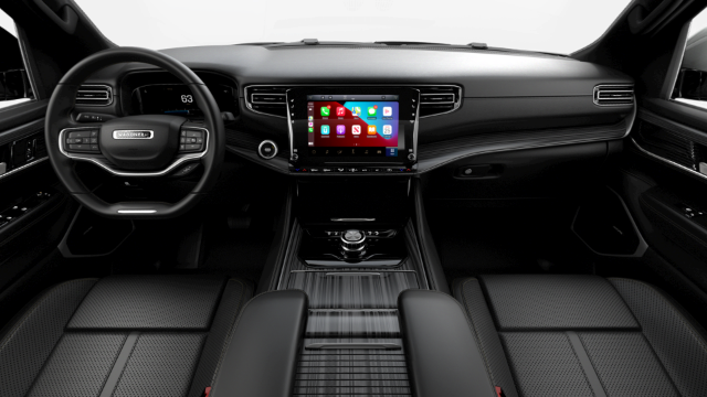 2022 Jeep Wagoneer Series II Interior