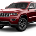 Maroon 2020 Jeep Grand Cherokee