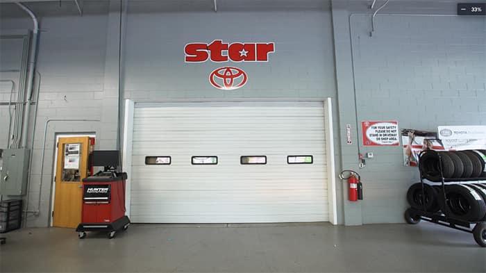 Star Toyota service bays
