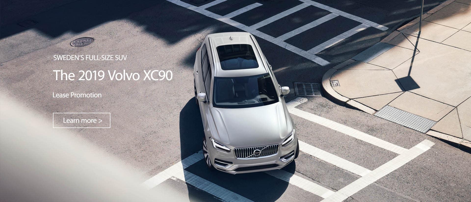 XC90 Lease Promotion