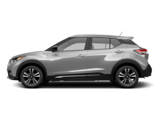 Silver Nissan Kicks