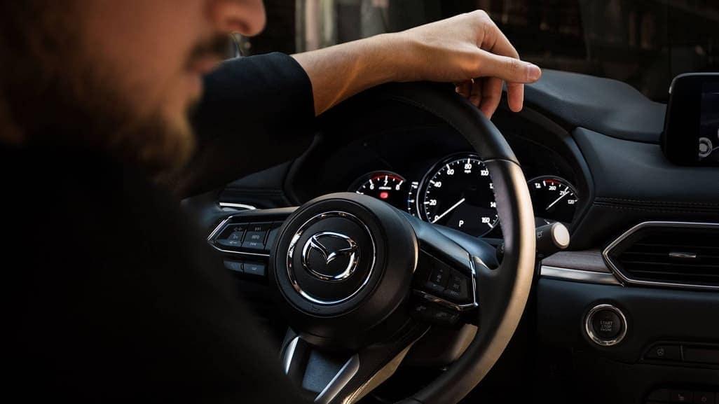 2019 Mazda CX-5 steering wheel