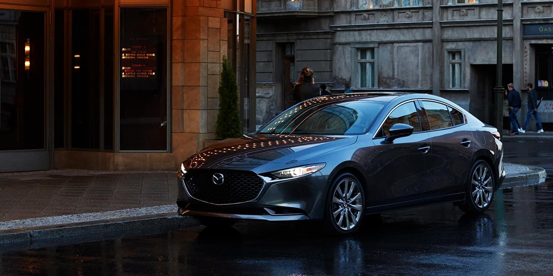 2020 Mazda3 Sedan Grey Exterior