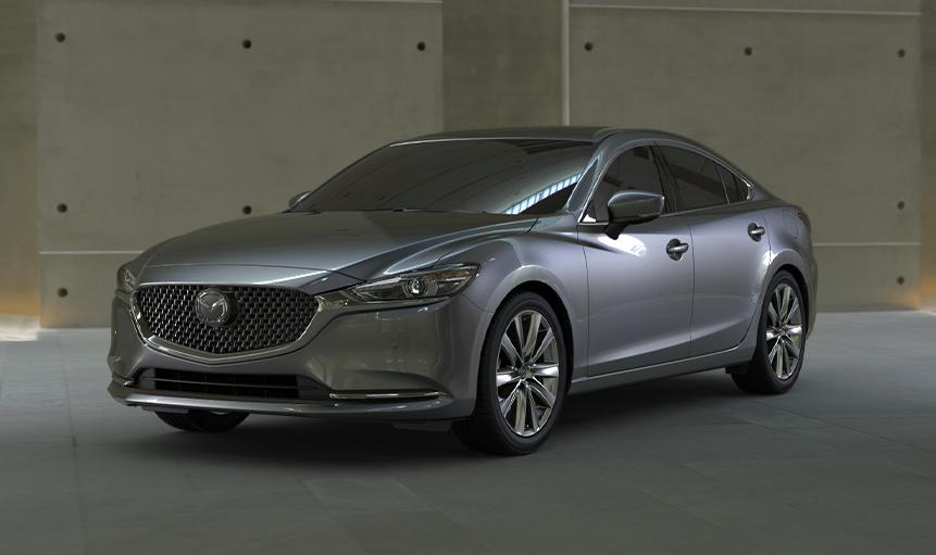 2020 Mazda6 Sedan Grey Exterior