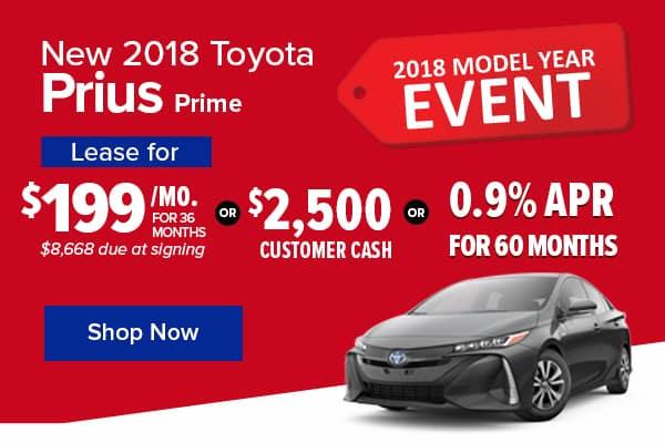 New 2018 Toyota Prius Prime