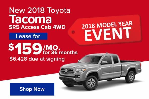 New 2018 Toyota Tacoma SR5 Access Cab 4WD